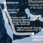The Arabian Peninsula Lehi's Trail, from Jerusalem to Bountiful (Bountiful = Wadi Sayq?)