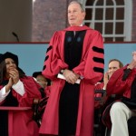 Michael Bloomberg at Harvard yesterday