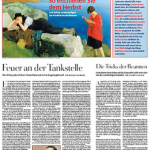 """A front page of """"Die Zeit"""" from 2006"""
