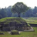 At the site of ancient Kaminaljuyu, near modern Guatemala City