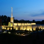The Atlanta Georgia Temple of The Church of Jesus Christ of Latter-day Saints (Click to enlarge.  Click again to enlarge further.)