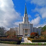 The Houston Texas Temple of The Church of Jesus Christ of Latter-day Saints