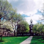 A scene on the campus of Rutgers University, the state university of New Jersay (Click to enlarge.)