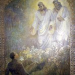 A rendering of the First Vision by Minerva Teichert