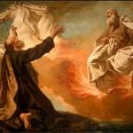 """Elijah Taken Up in a Chariot of Fire,"" by Giovanni Battista Piazzetta (d. 1754)"
