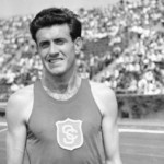 Louis Zamperini during his running days for USC