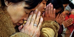 Praying Christians in China
