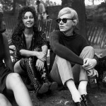 """""""Ultra Violet"""" and Andy Warhol sometime in the Sixties"""
