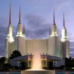 The Washington DC Temple (Click to enlarge.)