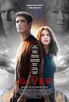 "poster from ""The Giver"""