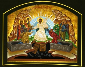 icon of resurrection