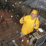 rain and BBQ