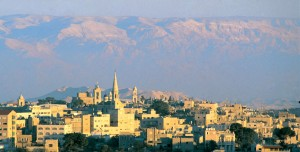 the little town of Bethlehem, today