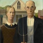 """American Gothic,"" by Grant Wood"