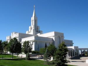 temple in Bountiful