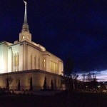 newly renovated temple in Ogden