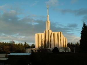 temple in Bellevue