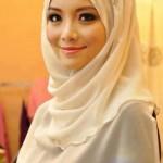 A pretty woman in a hijab