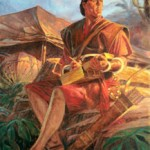 Nephi and the plates