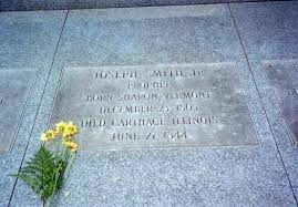 the grave of Joseph Smith