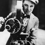 Charlie Chaplin, with camera