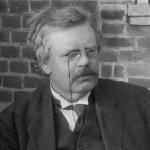 Chesterton, in B&W
