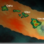 A bird's eye view of the central Pacific hot spot