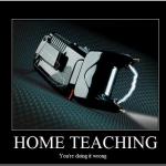 Home teaching device