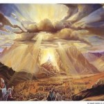Artist's view of traditional Mt. Sinai