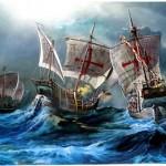 Columbus's three boats