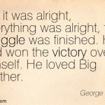 """Orwell's conclusion to """"1984"""""""