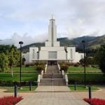 The temple in Bolivia