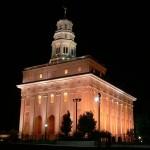 Rebuilt Nauvoo Illinois Temple