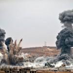 U.S. bombs fall near Kobani