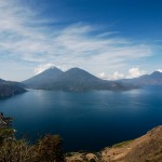 Lake Atitlán, in highland Guatemala