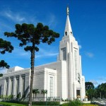 The temple in Curitiba, Brazil