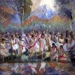 Teichert's Lamanite daughters