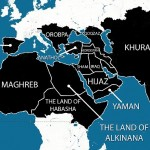 ISIS's map