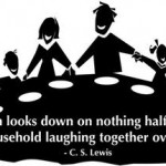 Lewis quote about family meals