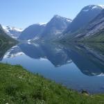 Looking toward Kjøsnesfjorden
