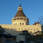 The modern Annunciation Church