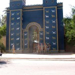 The Ishtar Gate of ancient Babylon