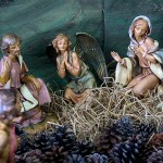 A Nativity scene, from Japan