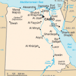 From Wikimedia Commons, map of Egypt