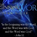 In the beginning was the Word