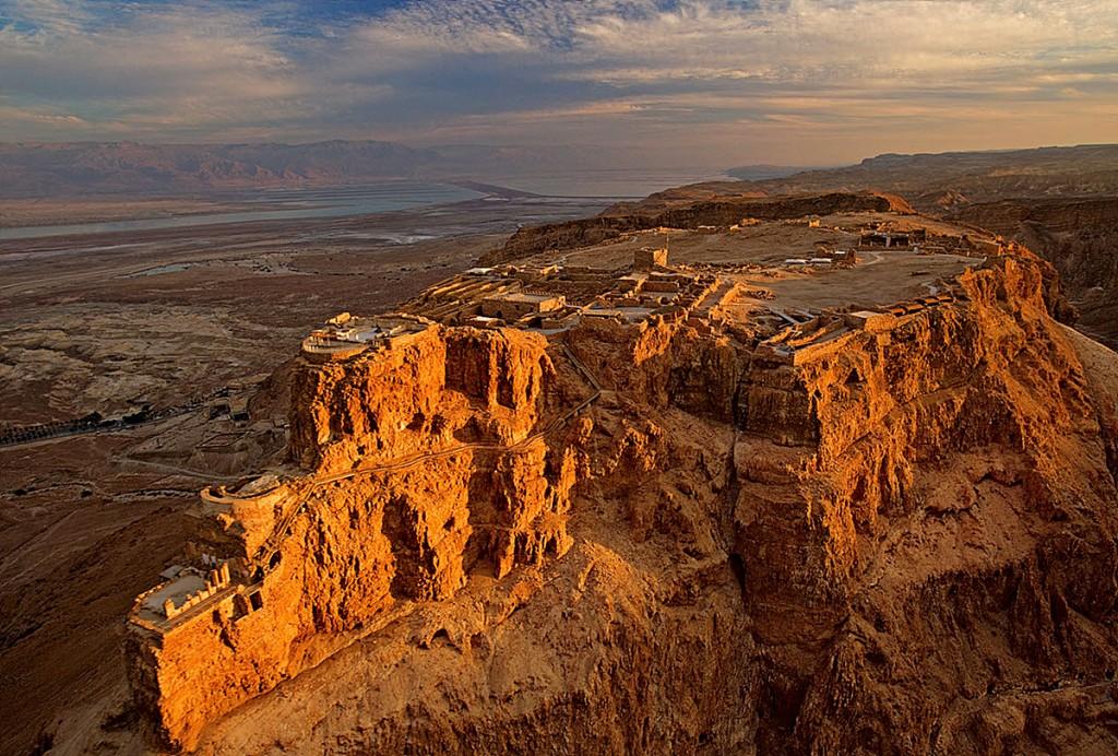 The Masada massif