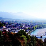 A river town in Bavaria