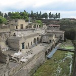 Ercolano, ancient and modern