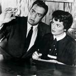 Perry Mason and his faithful secretary