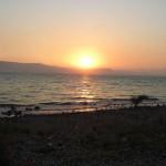 Galilean sunset